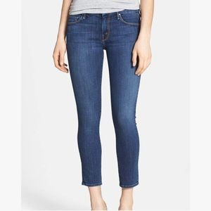 MOTHER NWOT The Looker Crop Skinny Jeans Sz28